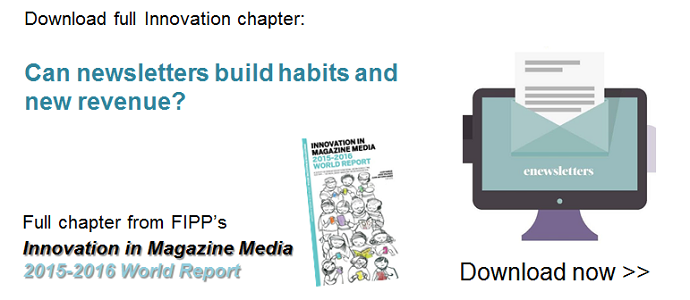 Innovation download: Can newsletters build habits and new revenue? ()