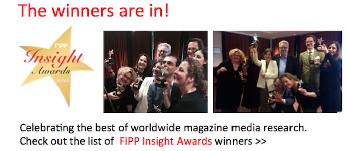 FIPP Insight Awards winners ()